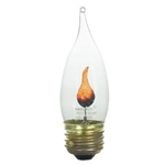 EFC3/120V Flicker Flame Bulb E26 Base, Flame Bulb, Flicker Flame, EFC3, Flicker-Flame, Flicker Flame Light Bulbs, Flicker Flame Lamps