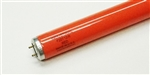 F20T12/R 20 Watt T12 Red Fluorescent G13 Base,#30530-SU,#48259,RED F20T12,F20T12 Red Fluorescent