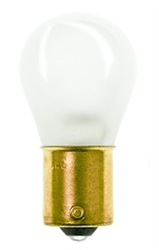 #307IF Miniature Bulb Ba15S Base, S8 SC BAY 28V .67A 21CP FROSTED, 307IF, #307IF,#307IF LAMP, #307IF BULB, #307IF MINIATURE LAMP, #307IF INDICATOR, INSIDE FROSTED #307 MINIATURE, INSIDE FROST #307,NSN 6240-00-222-0264
