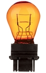 #3457NA NATURAL AMBER MINIATURE BULB PLASTIC WEDGE BASE, S8 WEDGE 14.0V .59A 3CP NATURAL AMBER, 3457NA, #3457NA, #3457NA MINIATURE LAMP,  #3457NA MINIATURE, #3457NA BULB, #3457NA INDICATOR,