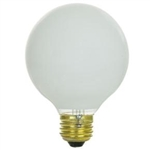 "25G25/WHT/130V/2M 25 WATT 3"" WHITE GLOBE E26 BASE, 25G25/W/L/24, 25G25/W, 25G25W12/1, 25G25/DLSW/RP, 25G25/W/4M, 25G25/W/RP, 25 WATT G25 WHITE GLOBE 130 VOLT MEDIUM BASE, WHITE HOLLYWOOD GLOBES, WHITE VANITY GLOBES"