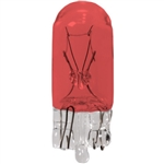 #555R Red Miniature Bulb Glass Wedge Base, Painted Red T3 1/4 Wedge 6.3V .25A .9CP, 555R, #555R, #555R Bulb, #555R Mini Bulb, #555R Mini Lamp, #555R Indicator, #555R Painted Red Bulb,#555R Automotive Bulb,#555R Automotive Lamp,Eiko#16045,Eiko#555R