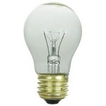60A15/CL/130V/2M 60 Watt A15 Clear 130 Volt E26, 60A15/CL,60 Watt A-15 Clear, A-15 Clear 60 Watt, A15CL60