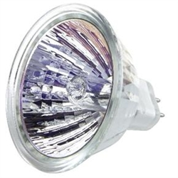 EYF (75W/12V) SPOT OPEN MR16 GX5.3 BASE, EYF, ANSI-EYF, 75 WATT 12 VOLT MR 16 12 DEGREE BEAM SPREAD, EIKO #15064
