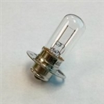 USHIO BRS (.75A/4V) Exciter Lamp P15S30 Base, BRS Exciter Bulb, Ushio #8000264, GE#70002, Philips #7253C, Osram #8004