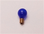 7G8/TRANSPARENT BLUE/130V E12 BASE,7G8/TB/130V, 7 WATT TRANSPARENT BLUE G8 GLOBE 130 VOLT E12 BASE