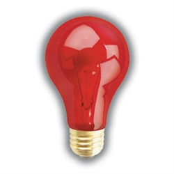 60A19/TRANS-RED PET NITE-BRITE E26 BASE,60A19 TRANS-RED, NITE_BRITE,#80654,PQL 80654, PET BULB,REPTILE BULBS,REPTILE LAMP