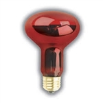 100R25/TRANS-RED PET NITE-BRITE E26 BASE,100R25 TRANS-RED NITE_BRITE,#80666,PQL 80666, PET BULB,REPTILE BULB,REPTILE LAMP