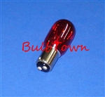 15T7/RED/DC/130V 15 WATT RED T7 BA15D BASE, 15T7/RED/DC CARD, 15T7/RED/DC, 15T7DC/RED, 15 WATT T7 RED DC BASE 130 VOLT