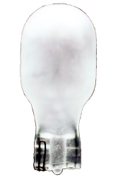 #906F Frost Miniature Bulb Glass Wedge Base, T5 WEDGE 13V .69A FROSTED, 906F, #906F, #906F MINIATURE, #906F BULB, #906F LAMP, #906F INDICATOR