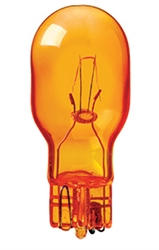 912 24v Amber Miniature Bulb Glass Wedge Base Amber T5 Wedge 24v 7a 21cp 912 24v Amber 912