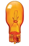 #918A AMBER MINIATURE BULB GLASS WEDGE BASE, T5 WEDGE 12.8V .56A 6.5CP PAINTED AMBER, 918A, 918 AMBER,#918 AMBER, #918A MINIATURE, #918A BULB, #918A LAMP, #918A INDICATOR, EIKO# 43302,BULBO,BIRNE,AMPOULE,BOMBILLA