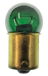 #97G GREEN MINIATURE BULB BA15S BASE, GREEN G6 SC BAY 13V .58A 6CP,#97G, 97G, #97 GREEN BULB, #97 GREEN MINIATURE, #97 GREEN LAMP, #97 GREEN MINIATURE BULB, #97 GREEN INDICATOR