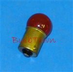 #97R RED MINIATURE BULB BA15S BASE, RED G6 SC BAY 13V .58A 6CP,#97R, 97R, #97 RED BULB, #97 RED MINIATURE, #97 RED LAMP, #97 RED MINIATURE BULB, #97 RED INDICATOR