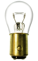 #198 Miniature Bulb BaY15d Base, S8 DC IND 12V 32/3CP,198, #198, #198 BULB, #198 MINIATURE, #198 LAMP, #198 MINIATURE LAMP, #198 INDICATOR, EIKO# 40443
