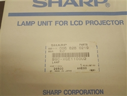 BQC-XGE1100U2 Sharp Projector Lamp With Cage,006-626-0219