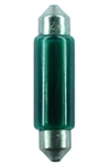 #E211-2/G T-3 Green Festoon SV8.5mm Base,#E211-2/G T-3 GREEN FESTOON SV8.5MM BASE, GREEN T3 D END CAP 12.8V .97A 12CP, E211-2G, #E211-2G, GREEN FESTOON, #211-2 GREEN