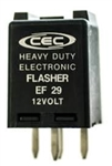 EF29 ELECTRONIC FLASHER,#EF29,COMBINATION TURN SIGNAL & HAZARD FLASHER,#EF29 FLASHER,EF29 AUTOMOTIVE ELECTRONIC FLASHER