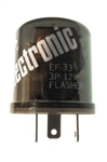 EF33 ELECTRONIC FLASHER,EF33 12 LAMP 3 TERMINAL ELECTRONIC FLASHER,EF-33,#452573,