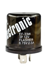 EF33W ELECTRONIC FLASHER WEATHERPROOF,EF33W ELECTRONIC FLASHER,EF33W 12 LAMP 3 WEATHERPROOF TERMINAL ELECTRONIC FLASHER,EF-33W