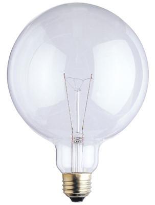 100g40 130v 2m 100 Watt G40 5 Clear Globe E26 Base 100g40 4m
