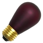11S14/E26AMETHYST/130V AMETHYST DEEP COLOR,AMETHYST S-14 LIGHT BULBS, AMETHYST S14 LIGHT BULB, AMETHYST BULBS, AMETHYST LIGHT BULBS, ADL #L1850