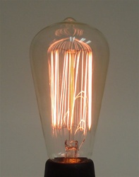 30S21/4/E26/MARCONI/120-240V MARCONI PERMA-GLOW, ANTIQUE REPRODUCTION LIGHT BULB, ANTIQUE LIGHT BULBS, ANTIQUE LAMPS, ANTIQUE BULBS, MARCONI REPRODUCTION LIGHT BULB