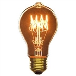 60A19/4/E26/SPIRAL/130V ANTIQUE SPIRAL PERMA-GLOW, ANTIQUE REPRODUCTION LIGHT BULB, ANTIQUE LIGHT BULBS, ANTIQUE LAMPS, ANTIQUE BULBS, VINTAGE SPIRAL LIGHT BULB,L5144 BULB