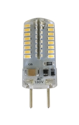 LED-3014-64-G8 | Bulb 3 Watt 110-130V G8 Base Dimmable, LED #3014-64-G8 LED, waterproof LED 3014-64-G8