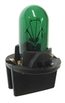 #PC194G GREEN MINIATURE BULB PC SOCKET BASE, 194 GREEN WITH PC SOCKET, 194PCG, #194PCG, #194PCG BULB, #194PCG MINIATURE, #194PCG LAMP, #194PCG GREEN MINIATURE LAMP, #PC194G GREEN INDICATOR,BOMBILLA,BIRNE,AMPOULE,BULBO