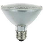 39PAR30/HAL/XEN/WFL 39 WATT HALOGEN PAR30 FLOOD E26 BASE.S2235,SATCO S2235,50PAR30FL HALOGEN FLOOD