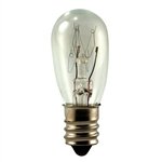 6 Volt 6 Watt replacement bulbs for St. Nicholas Square, 6S6/6V MINIATURE BULB E12 BASE, S6 6V 6W E12 BASE, 6S6-6V, 6 WATT S6 E12 BASE, 6 WATT 6 VOLT E12 BASE, 6S6/6V INDICATOR, 6S6/6V MINIATURE, EIKO# 40798