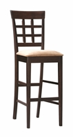Coaster BAR STOOL (TAN/CAPPUCCINO)