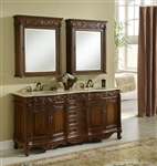 "60"" or 72"" Double sink vanity"