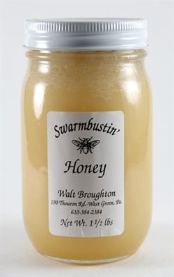 Totally Raw Honey - 1.5 lb. Pint