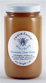 Blueberry Mountain Creme Honey - 1 lb.
