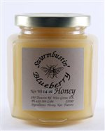 Blueberry Mountain Creme Honey - 14 oz. Hex Jar