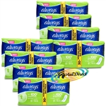 8x 30 Always Ultra Normal Sanitary Towels Pads Without Wings