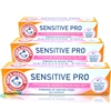 3x Arm & Hammer Enamel Pro Repair Sensitive 75ml
