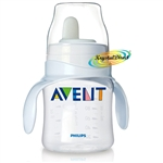 Avent SCF625/01 Soft Spout Bottle With Handles To First Cup Trainer 4m+ 125ml