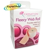 Carnation Fleecy Adhesive Web Roll 7.5cm x 75cm Foot Friction Pressure Relief