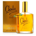 3x Revlon Charlie Gold Eau De Toilette 100ml Spray EDT Perfume Gift For Her