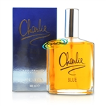 3x Revlon Charlie Blue Eau Fraiche 100ml Spray EDF Perfume Gift For Her