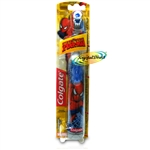 Colgate Marvel SPIDERMAN Children Kids Boys Battery Extra Soft Toothbrush