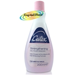Cutex Strengthening Nail Polish Varnish Remover For Brittle Nails 200ml
