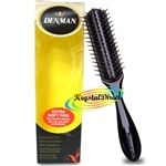 Denman D33 Small Styling Brush Extra Soft Pins - Black
