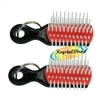2x Denman Mini Keyring Brush