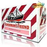 24x Fisherman's Friend Cherry Menthol Sugar Free Lozenges Sweeteners 25g