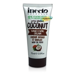 Inecto Coconut HAND & NAIL CREAM 75ml / 2.5 oz