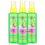 3x L'Oreal Kids Super PEAR TANGLE TAMER Wet & Dry Hair 150ml